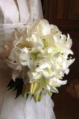 画像2: 【配達地域限定 一生の思い出を上質なお花で】お値段ご相談 生花のウェディングブーケ&ブートニア 完全オーダー  (2)