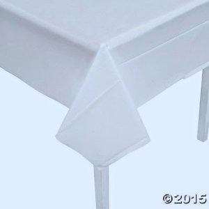 画像1: 使い捨てテーブルクロス(白)