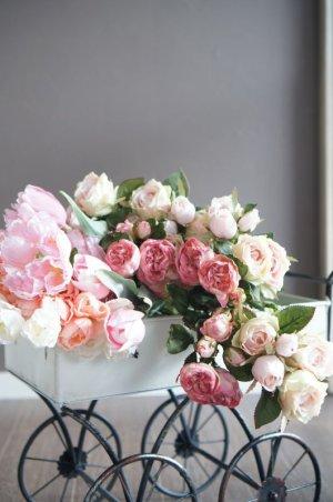画像5: 【造花】チューリップ(ピンク) 41cm7本セット