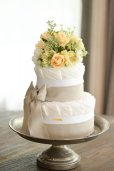 画像3: 【Salon d'or】こだわりブーケのダイパーケーキ(おむつケーキ)イエロー